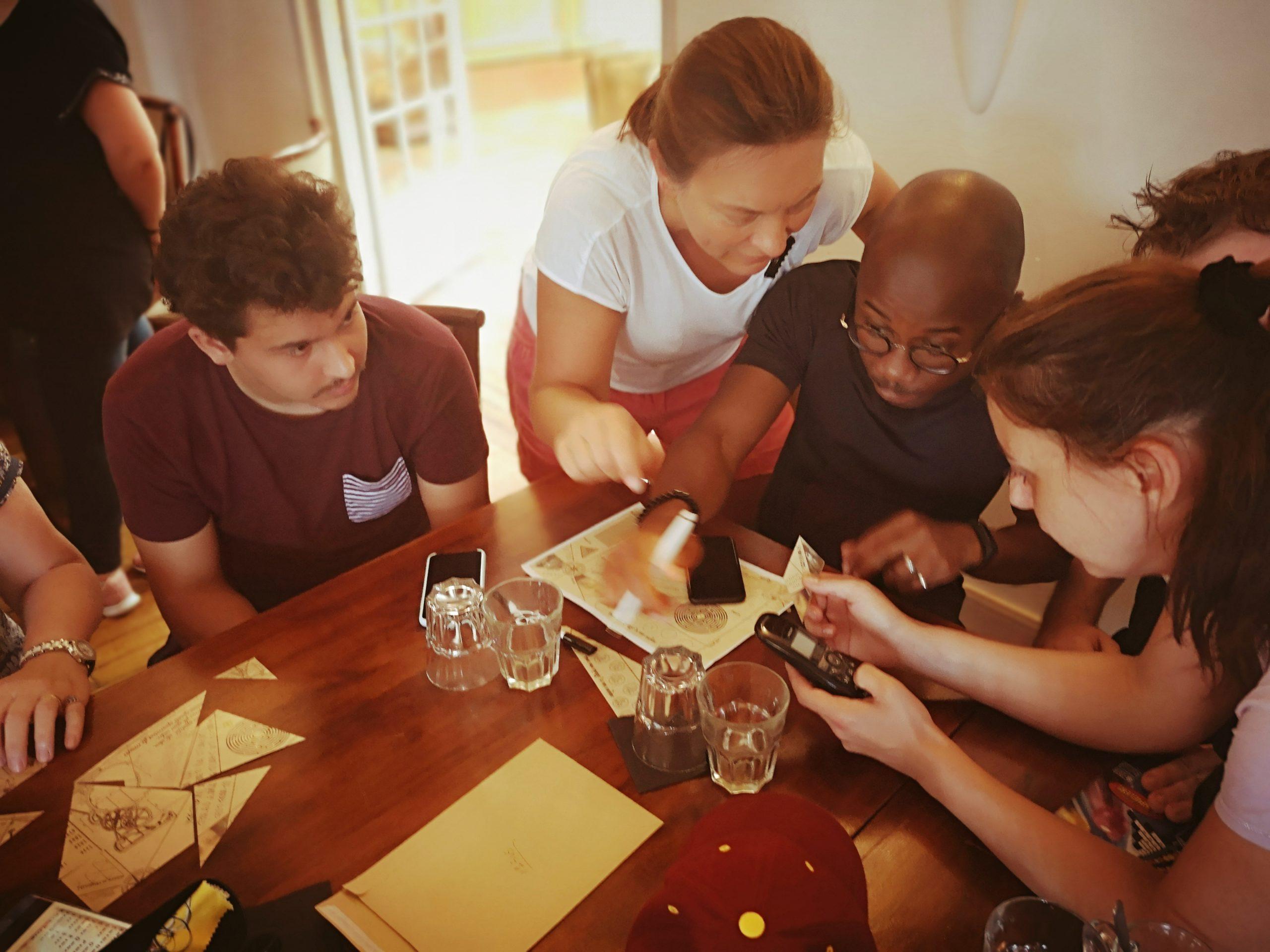 Team building autour des énigmes